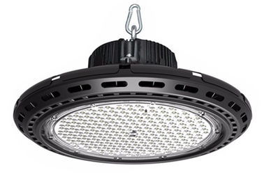 Black Ufo High Bay Light , Led Workshop Lights Die Cast Aluminium Material